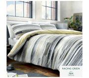 Racing Green Amaru Duvet Cover Set - King