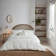 Sanderson Sibyl White Duvet Cover - King
