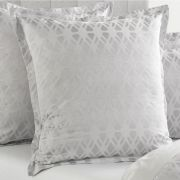 Sheridan Brookley Silver European Pillowcase Single - 65cm x 65cm