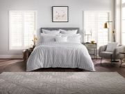 Sheridan Brookley Silver Tailored Duvet Cover Set - Double