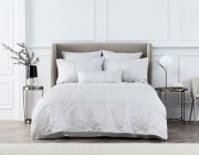 Sheridan Stedwell Cloud Grey Duvet Cover Set - Superking