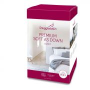 Snuggledown Premium Soft As Down 10.5 Tog Duvet - Single