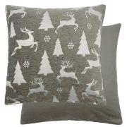 Sparkle Trees & Reindeers Cushion Cover
