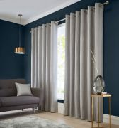 Studio G Catalonia Silver Readymade Curtains 66