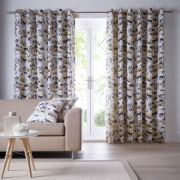 Studio G Chelsea Ochre Readymade Curtains - 66