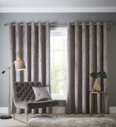 Studio G Navara Mink Eyelet Readymade Curtains 66