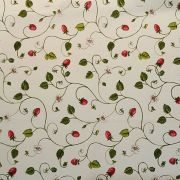 Trailing Strawberries Oil Cloth