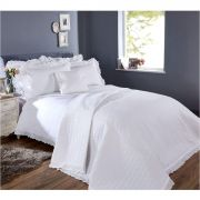 Vantona White Collection Romantica Duvet Cover Set - King