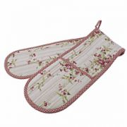 Walton & Co. Rose Cottage Double Oven Glove